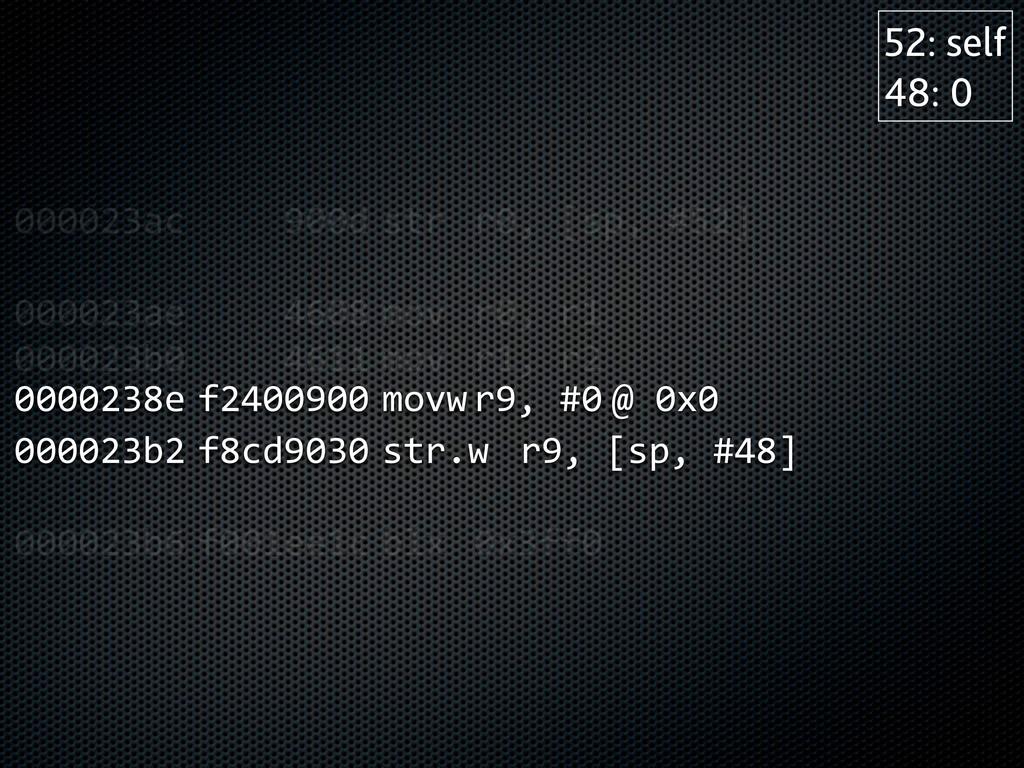 000023ac      900d  str  r0, [sp, #52]...