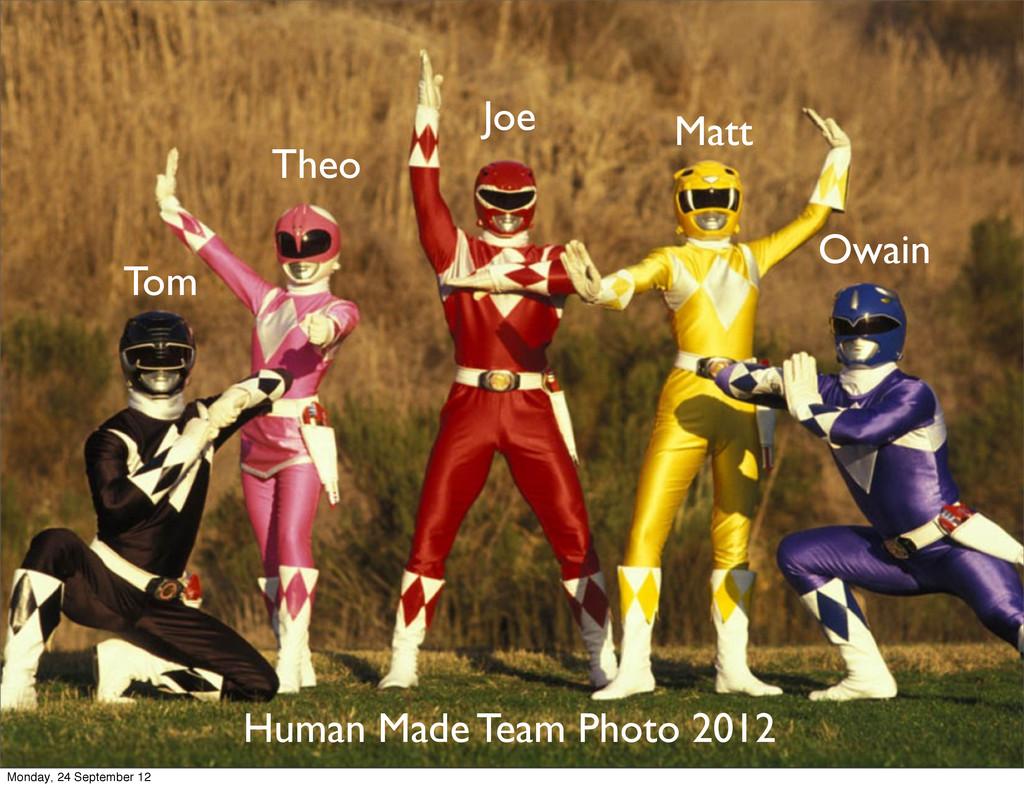 Joe Matt Owain Tom Theo Human Made Team Photo 2...