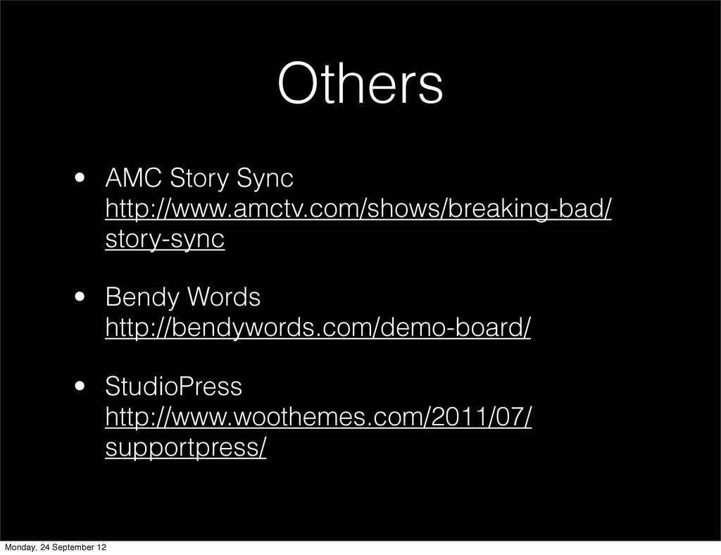 • AMC Story Sync http://www.amctv.com/shows/bre...
