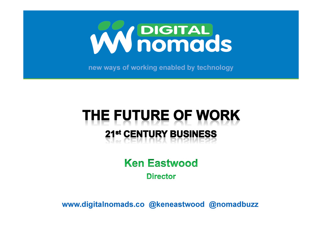 new ways of working enabled by technology www.d...