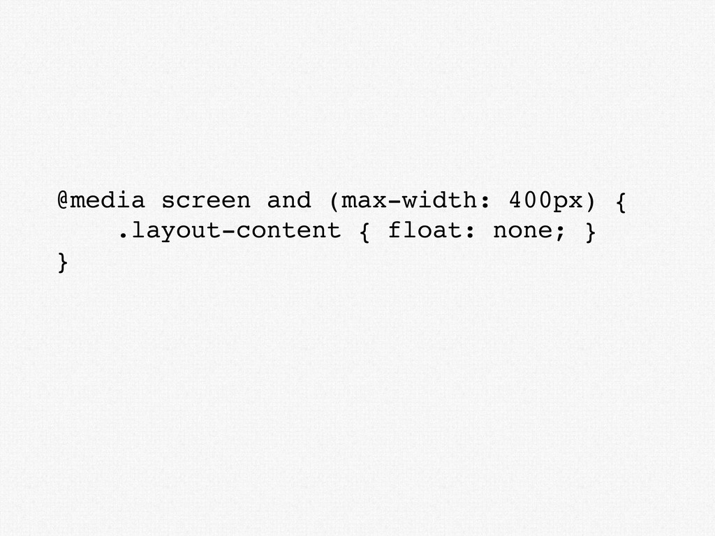 @media screen and (max-width: 400px) { .layout-...