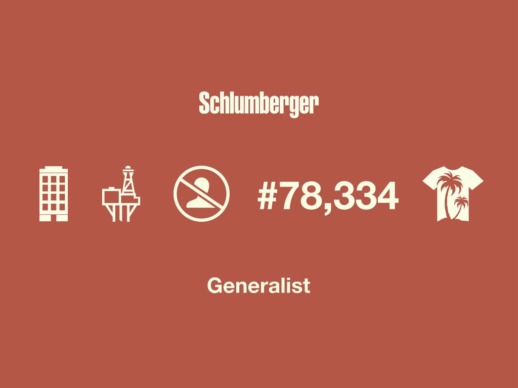 #78,334 Generalist