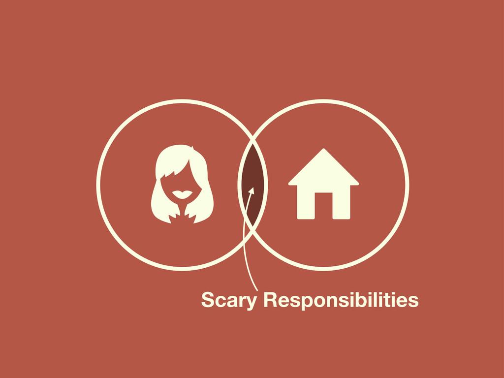 ⌂ Scary Responsibilities