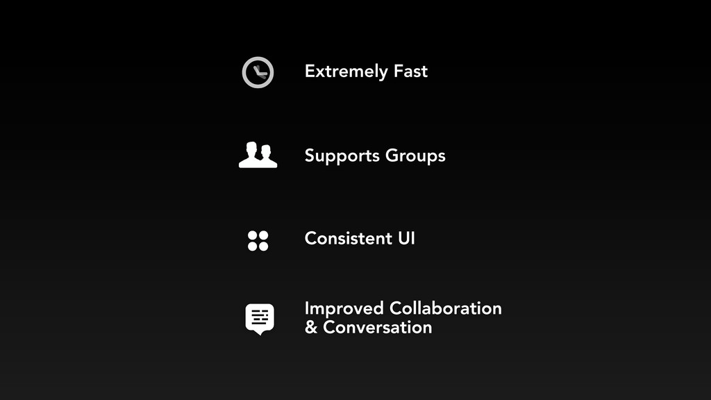 Consistent UI Supports Groups Extremely Fast Im...