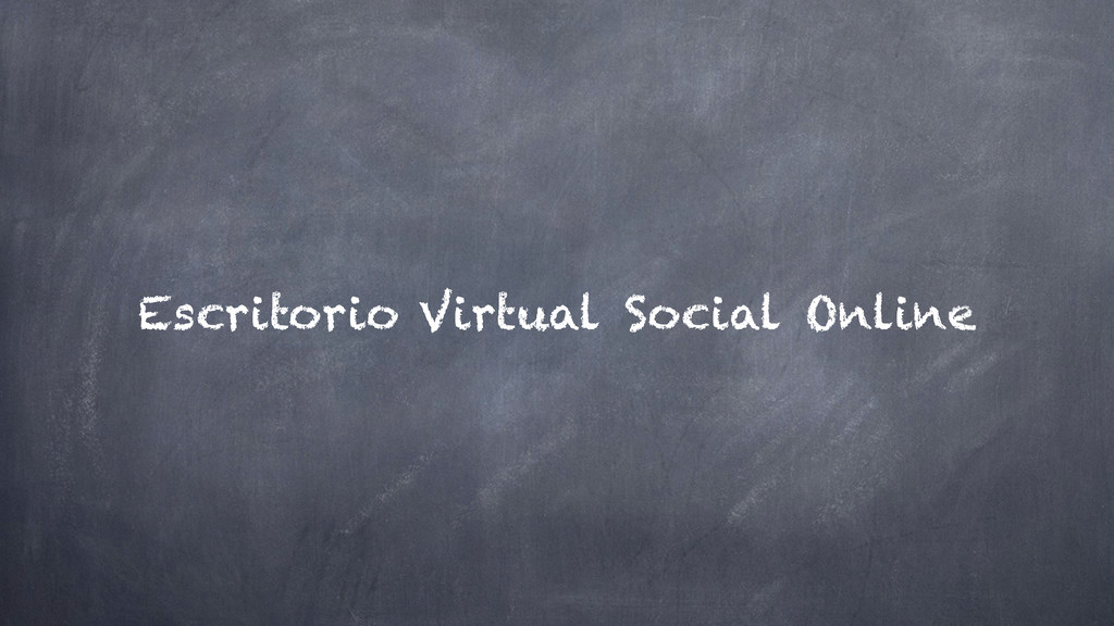 Social Online Escritorio Virtual