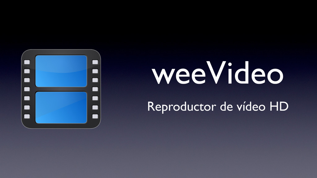 weeVideo Reproductor de vídeo HD