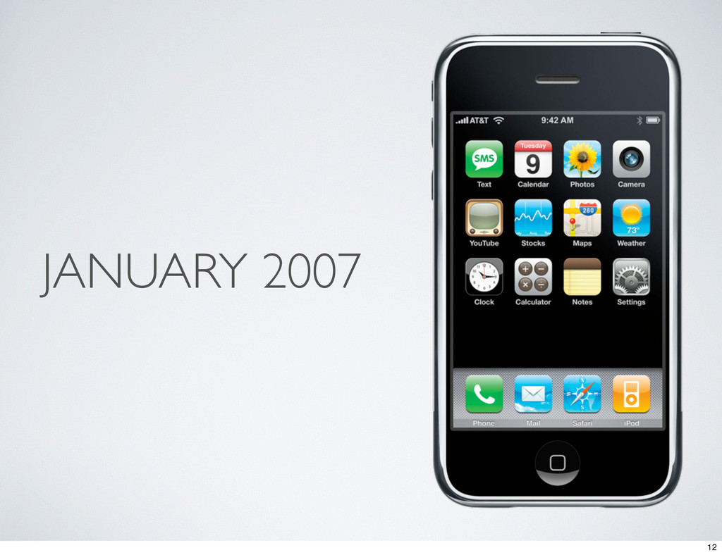 JANUARY 2007 12