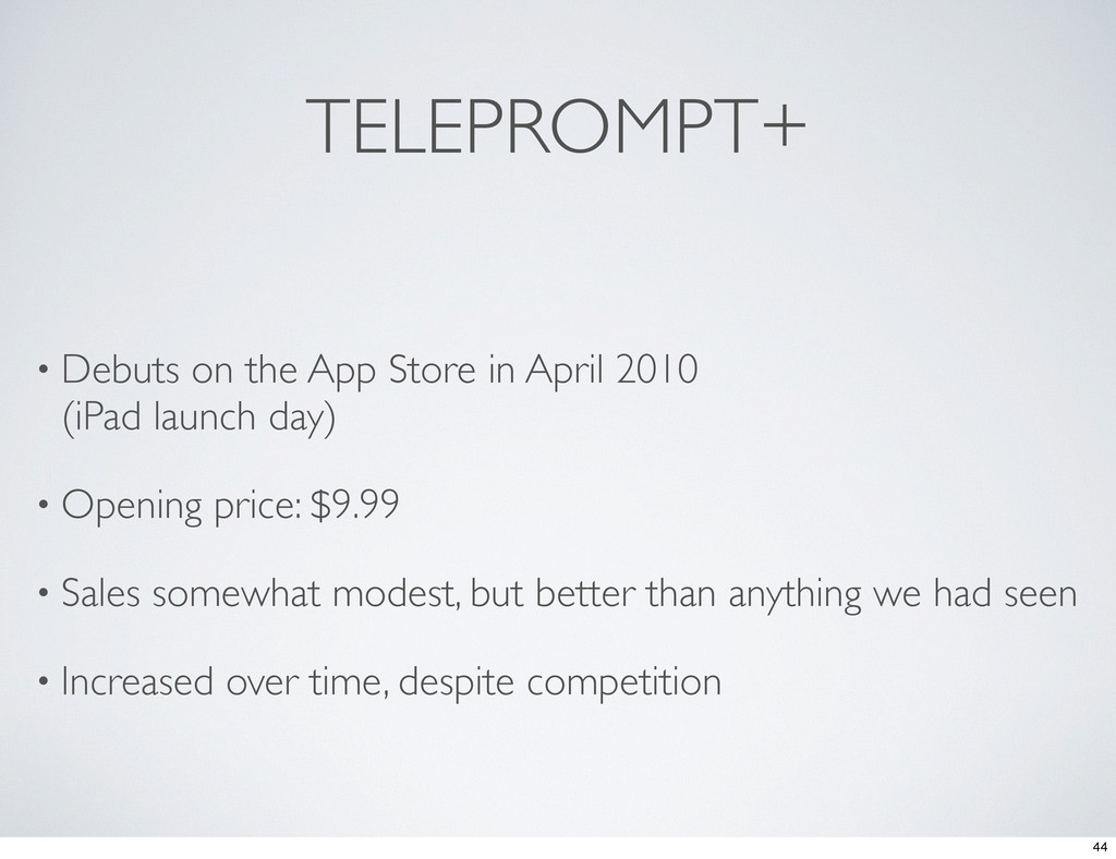 TELEPROMPT+ • Debuts on the App Store in April ...