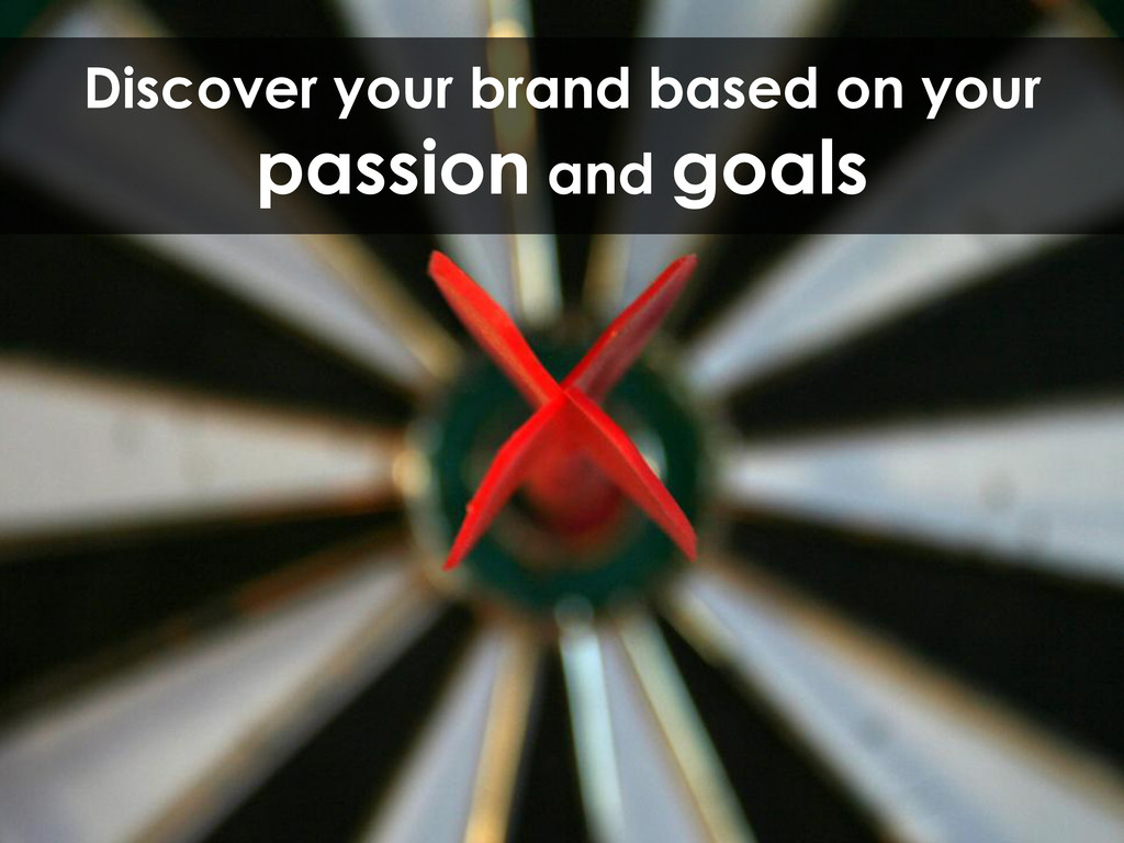 Discover your brand based on your passion and g...