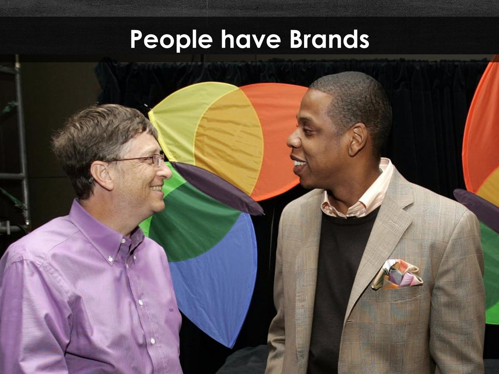 People have Brands