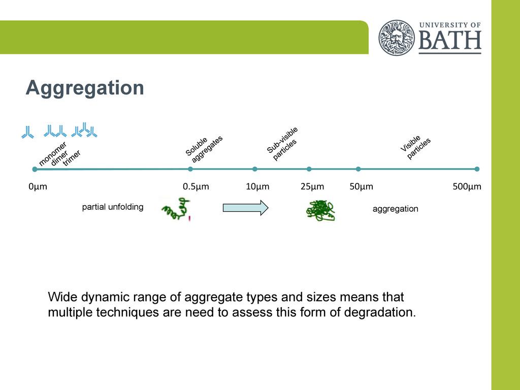 Aggregation  0µm         ...