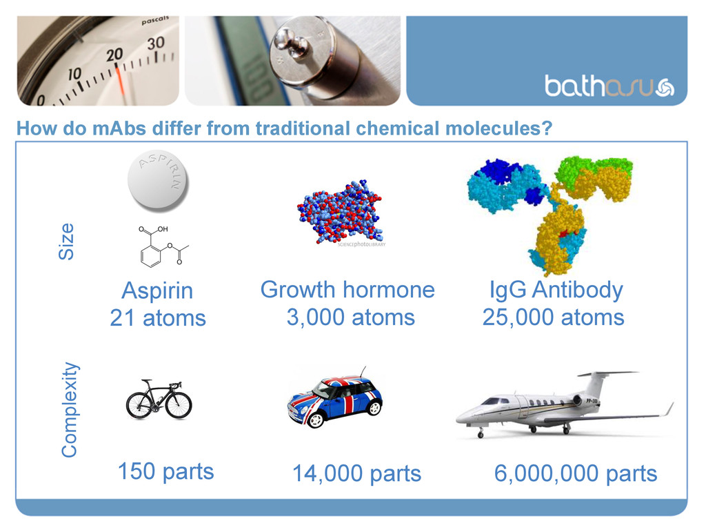 How do mAbs differ from traditional chemical mo...