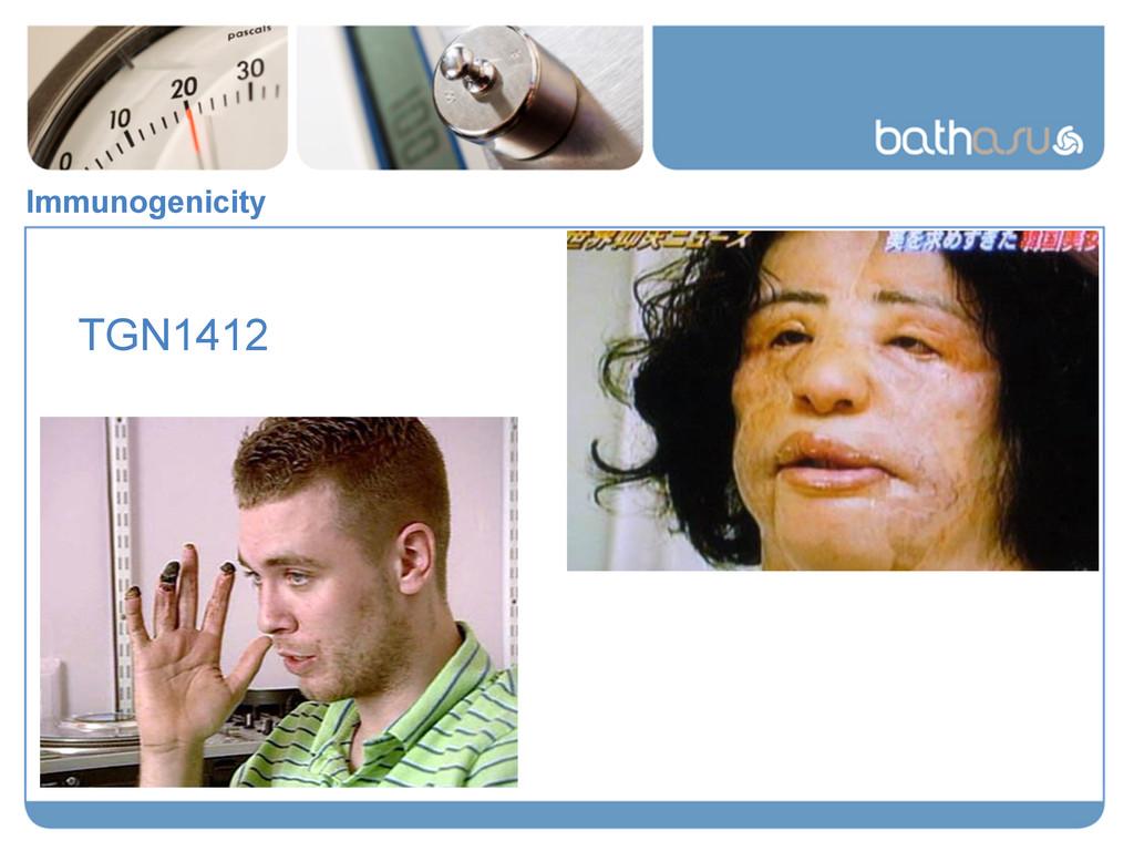 TGN1412 Immunogenicity