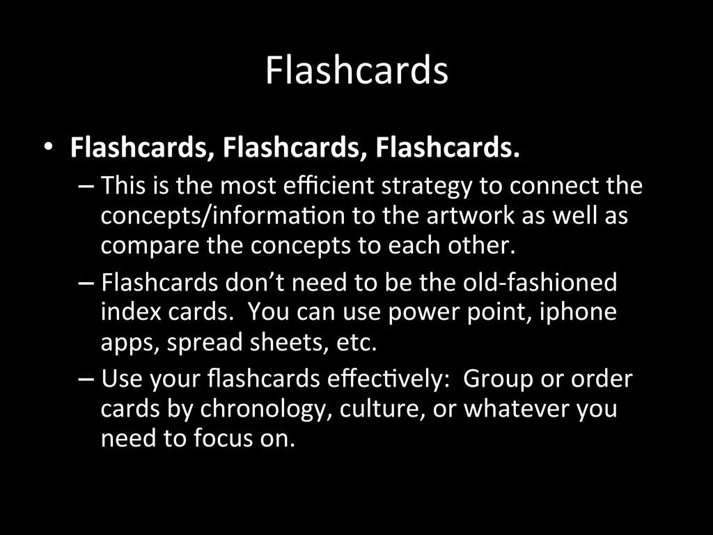 Flashcards  • Flashcards, Flashcards, ...