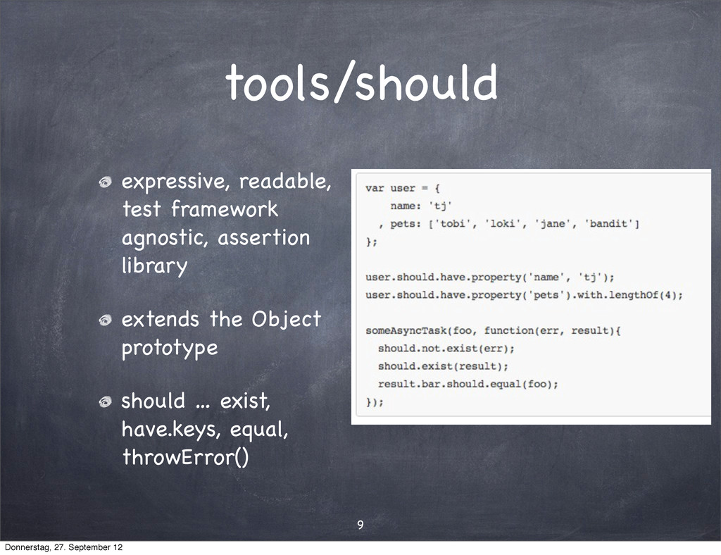 tools/should expressive, readable, test framewo...