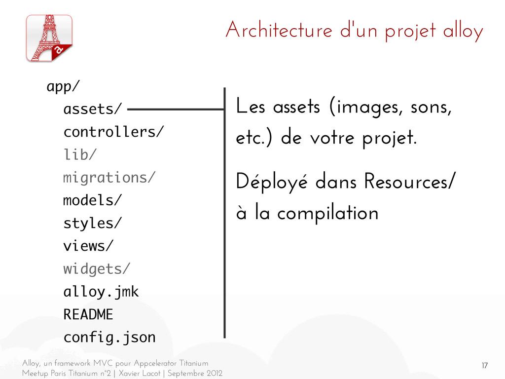 17 Alloy, un framework MVC pour Appcelerator Ti...