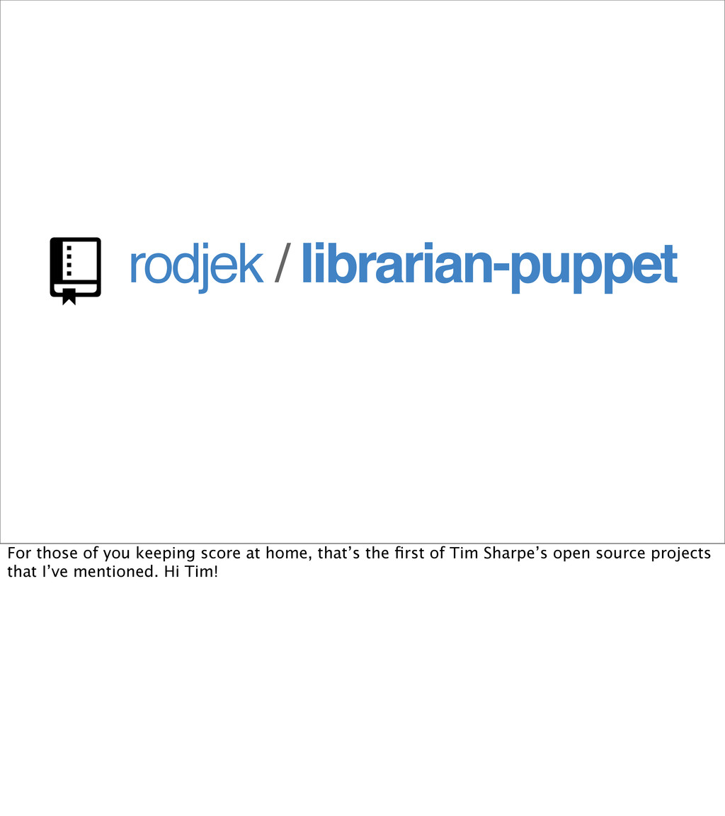 rodjek / librarian-puppet  For those of you ke...