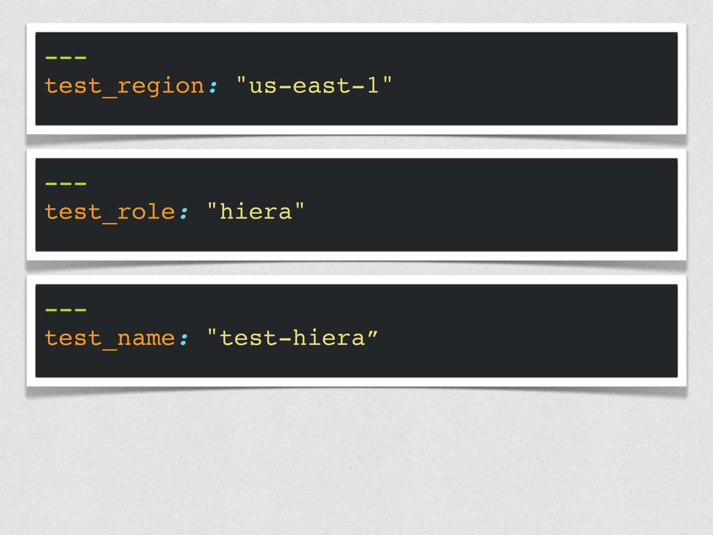 "--- test_region: ""us-east-1"" --- test_role: ""hi..."