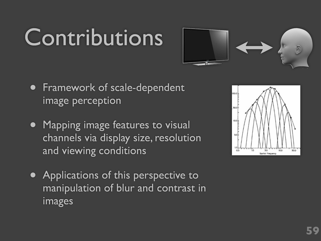 Contributions • Framework of scale-dependent im...