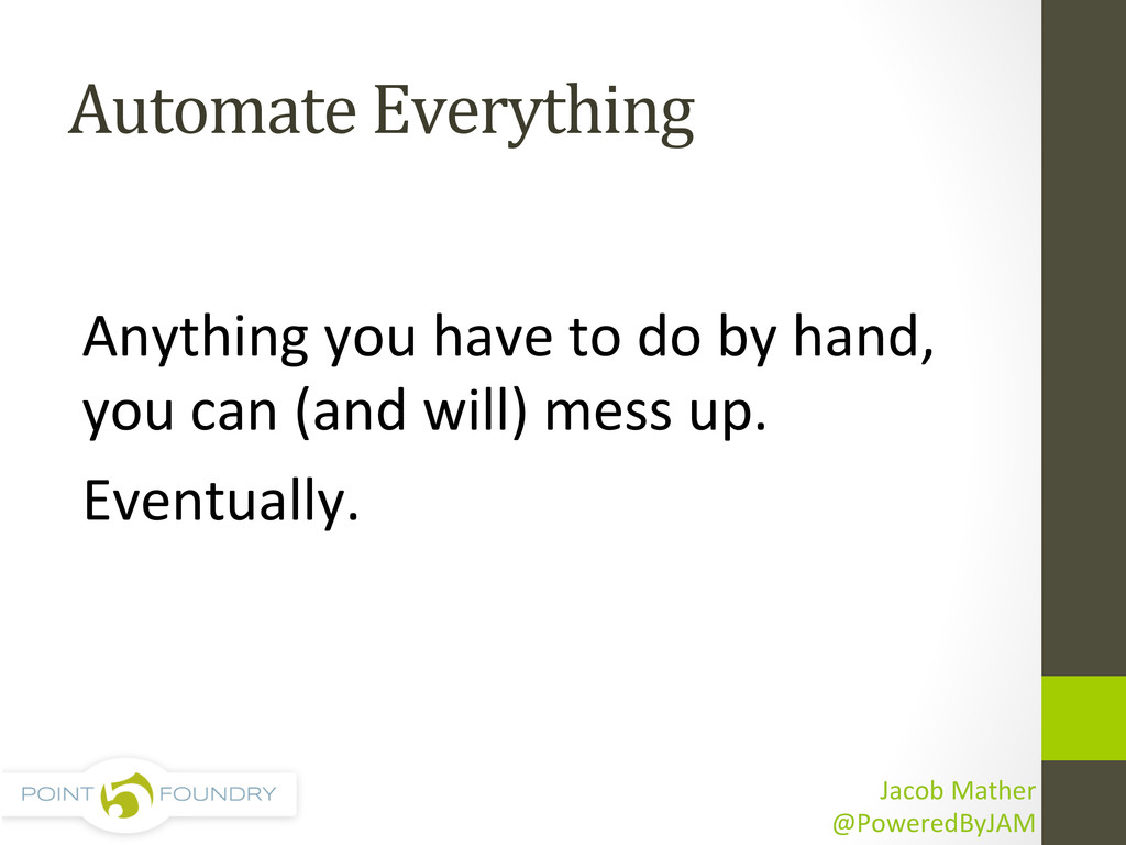 Automate	