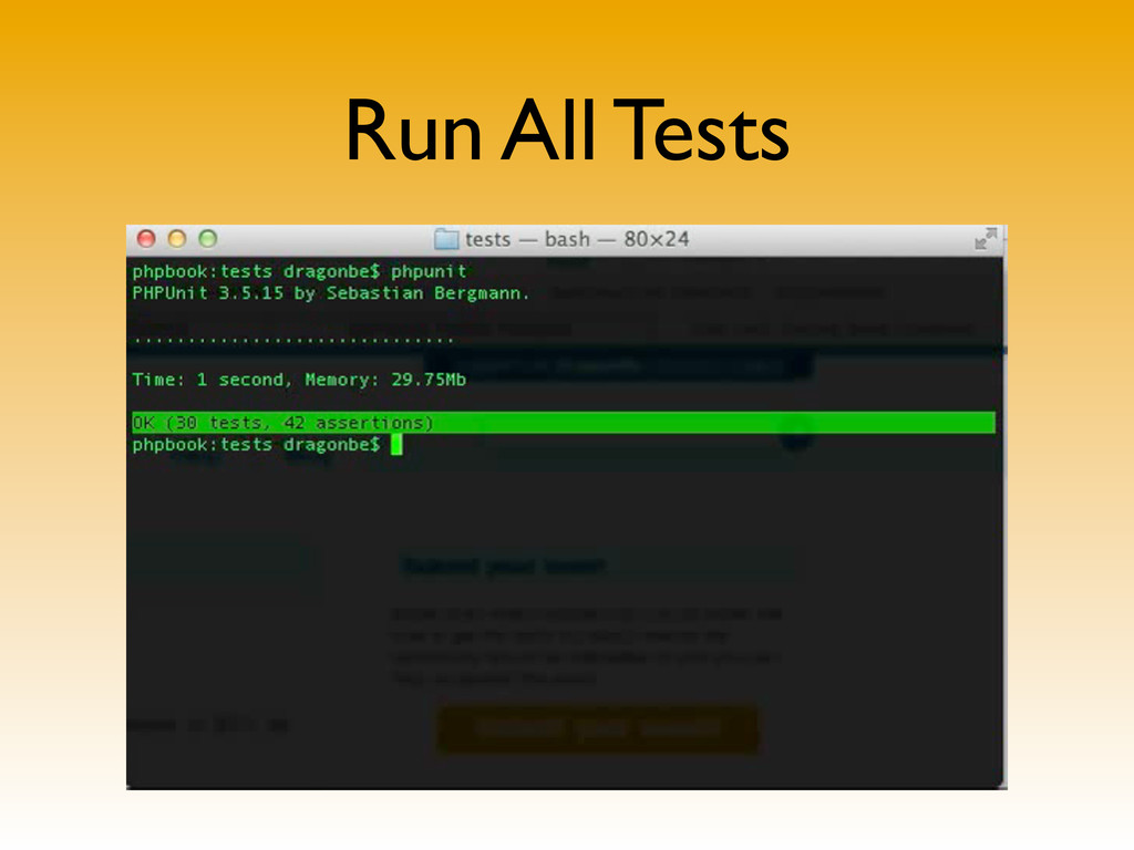 Run All Tests
