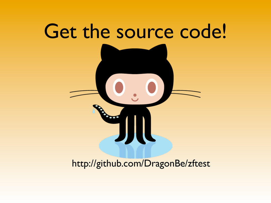 Get the source code! http://github.com/DragonBe...