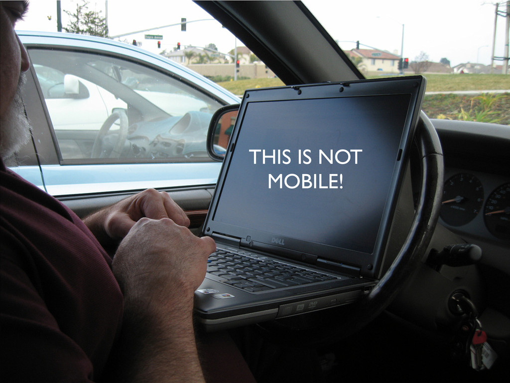 THIS IS NOT MOBILE!