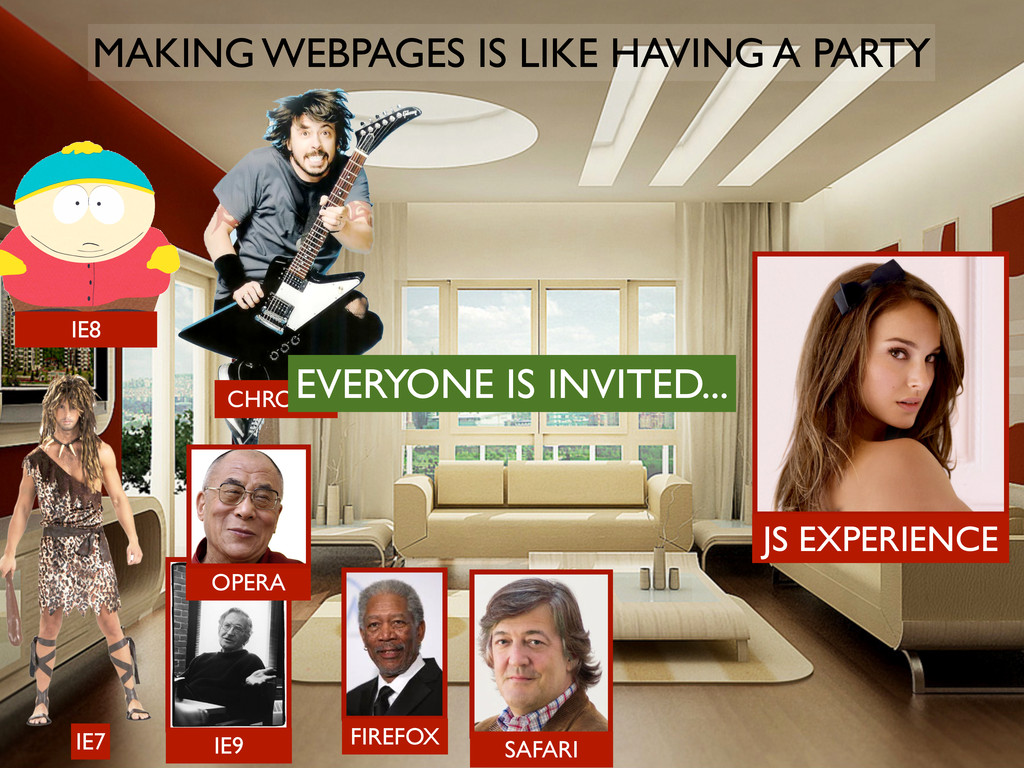 MAKING WEBPAGES IS LIKE HAVING A PARTY JS EXPER...