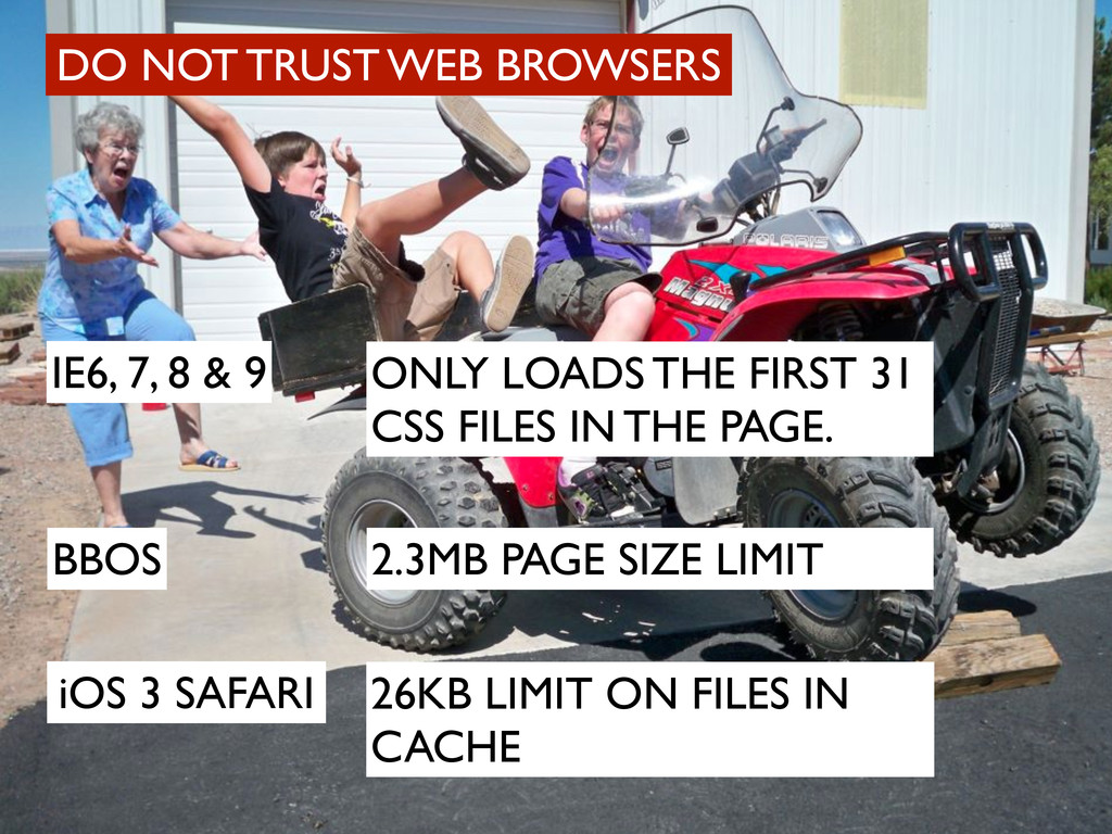 DO NOT TRUST WEB BROWSERS IE6, 7, 8 & 9 ONLY LO...