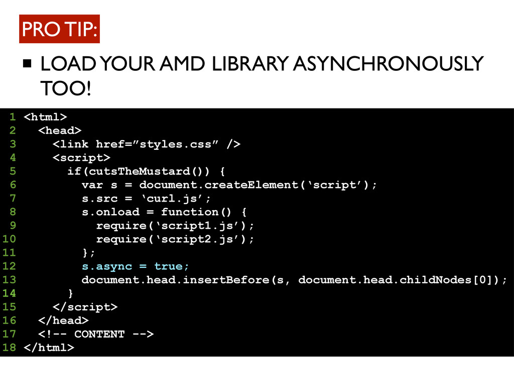 LOAD YOUR AMD LIBRARY ASYNCHRONOUSLY TOO! PRO T...
