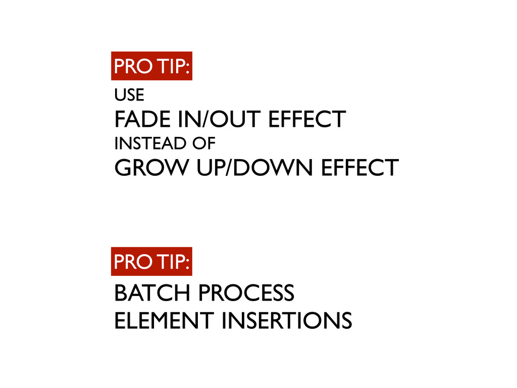 USE FADE IN/OUT EFFECT INSTEAD OF GROW UP/DOWN ...