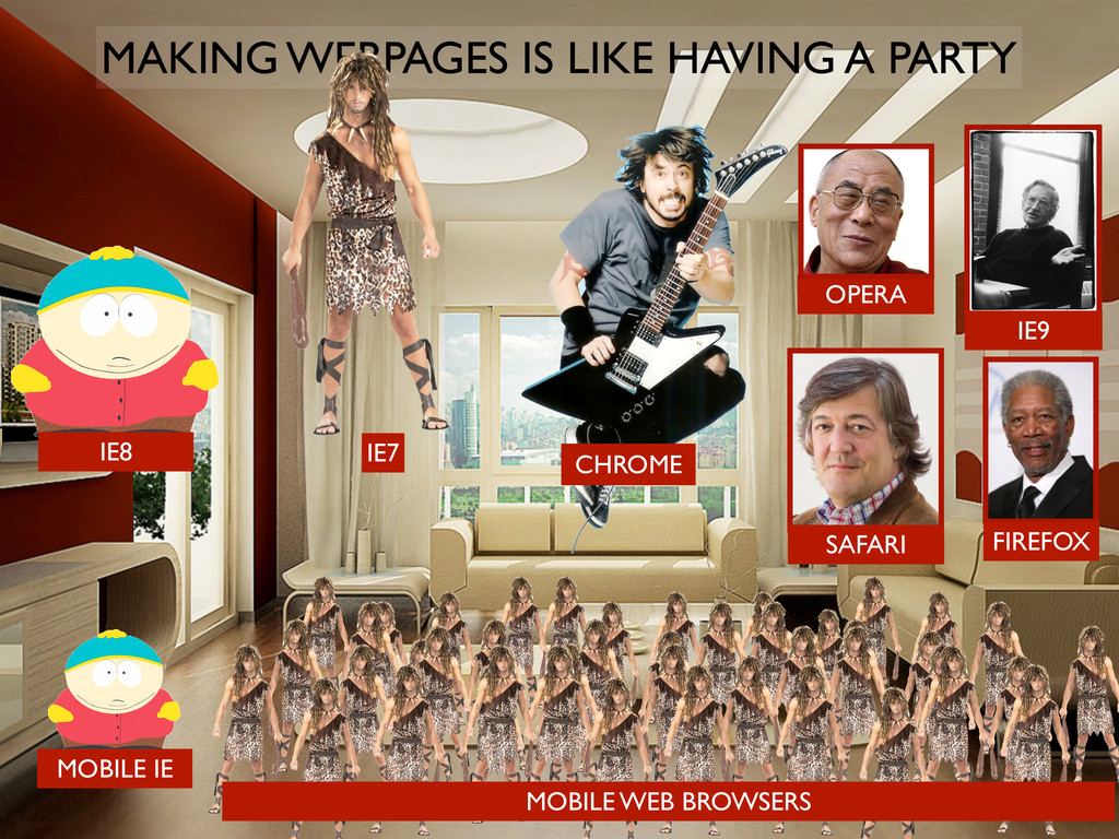 MAKING WEBPAGES IS LIKE HAVING A PARTY IE7 MOBI...