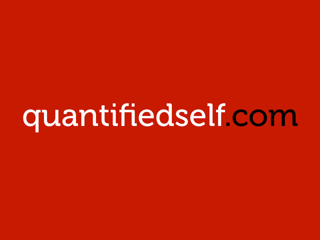 quantifiedself.com
