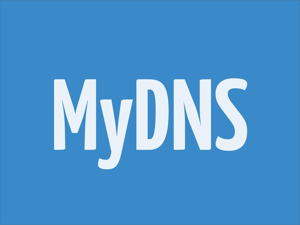 MyDNS
