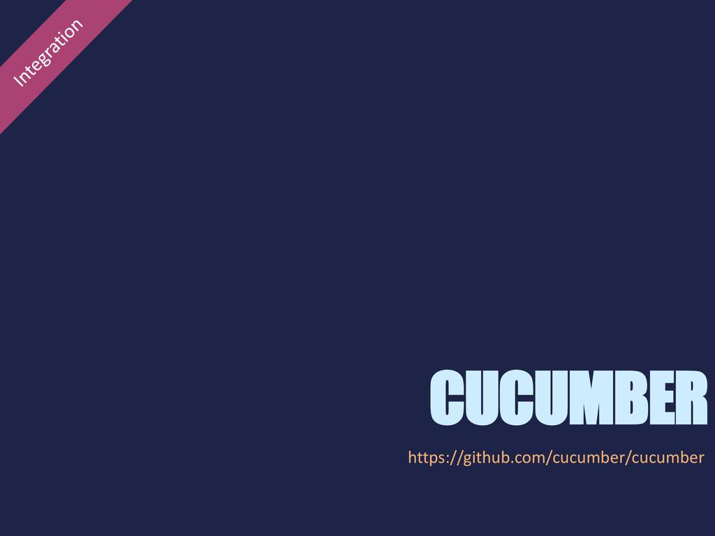 CUCUMBER https://github.com/cucumber/cucumber