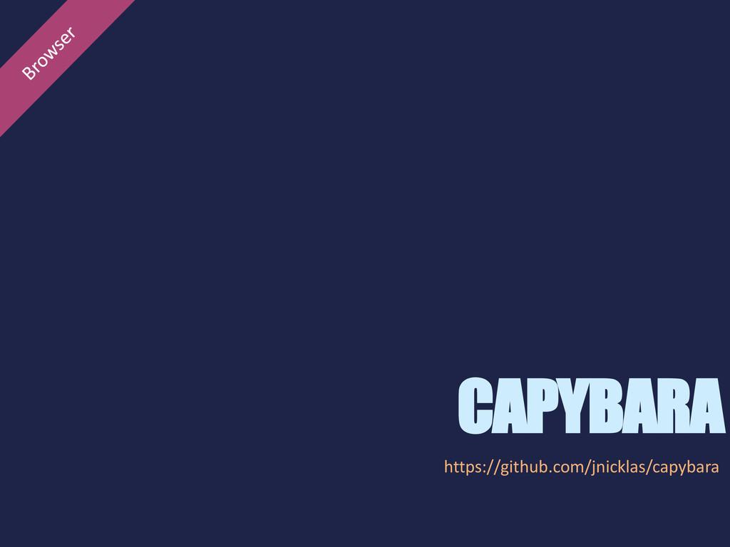 CAPYBARA https://github.com/jnicklas/capybara