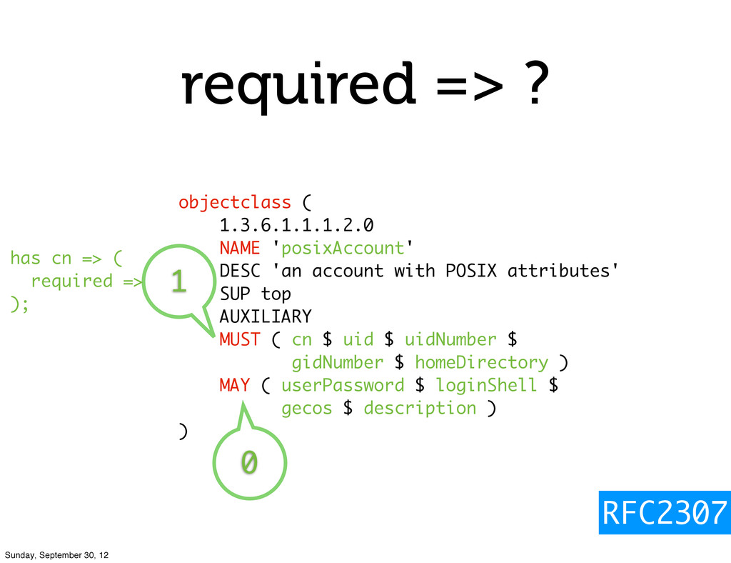 required => ? objectclass ( 1.3.6.1.1.1.2.0 NAM...