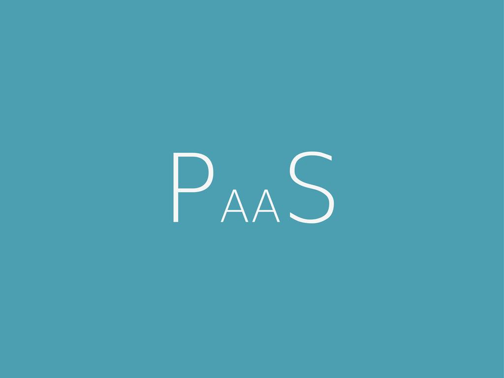 PAA S