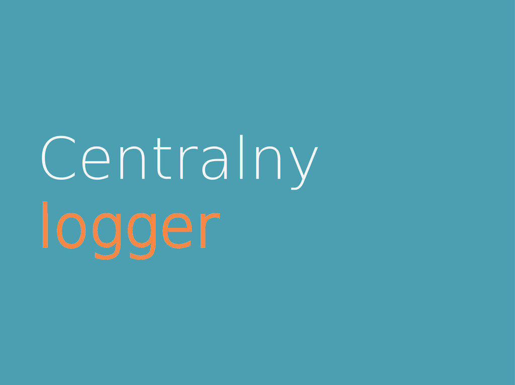 Centralny logger