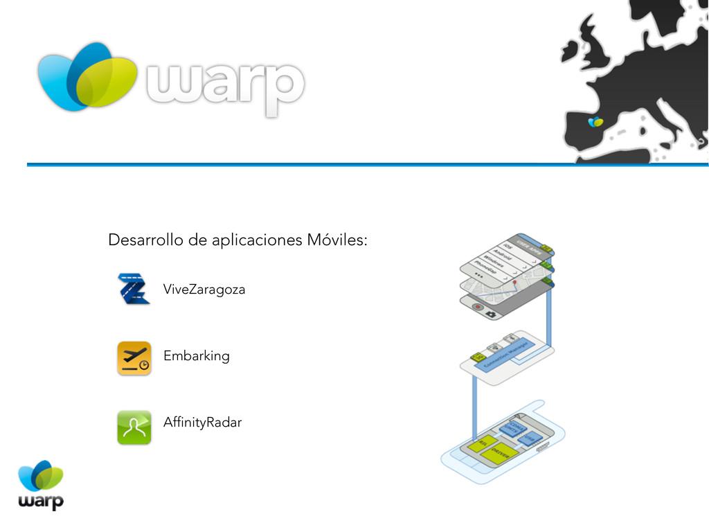 Desarrollo de aplicaciones Móviles: ViveZaragoz...