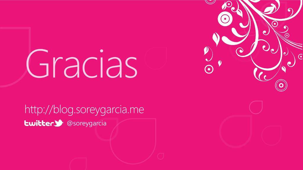 Gracias @soreygarcia