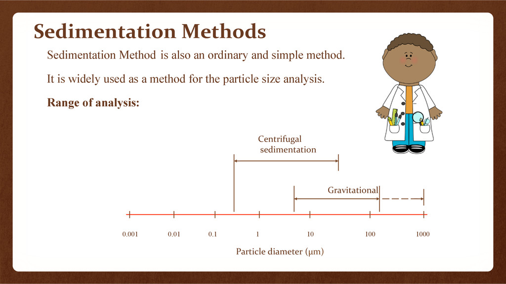 Sedimentation	
