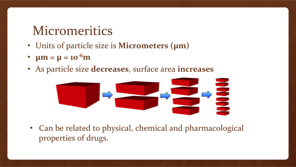 Micromeritics	