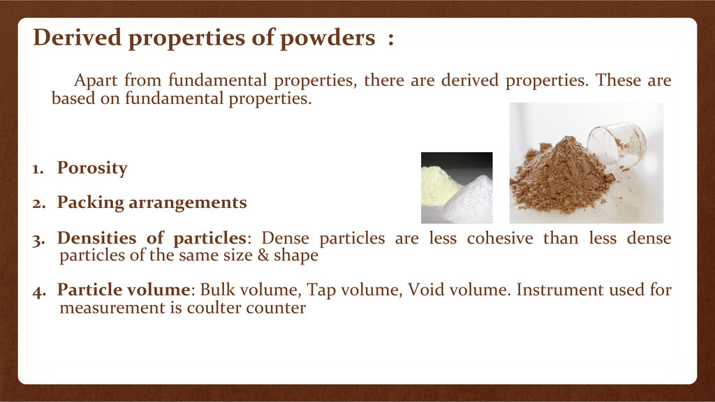 Derived	