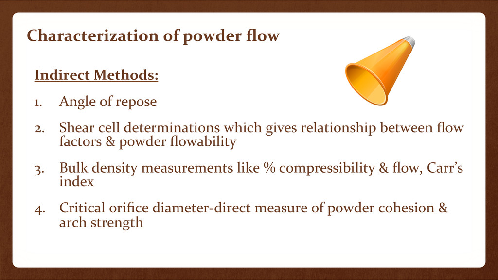 Characterization	