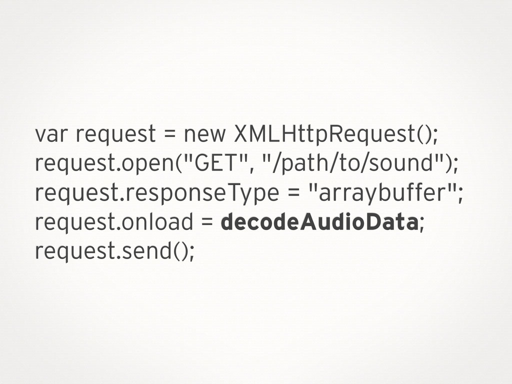 var request = new XMLHttpRequest(); request.ope...