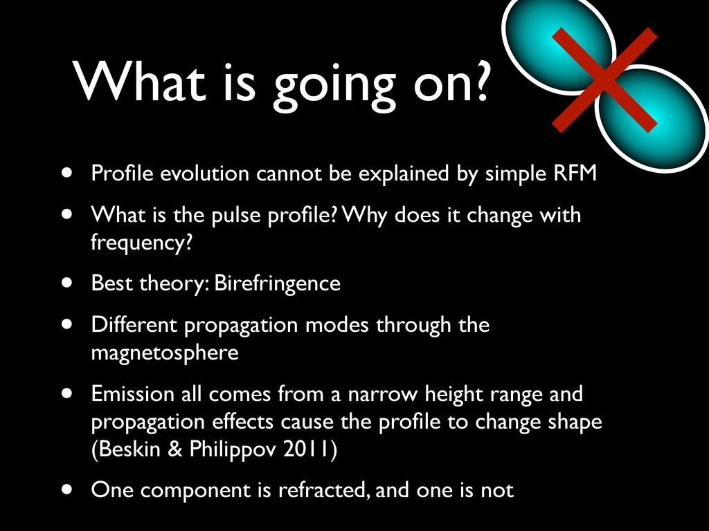 • Profile evolution cannot be explained by simpl...