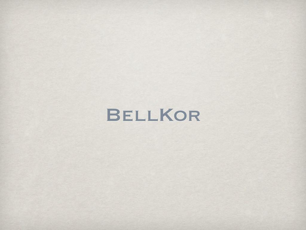 BellKor