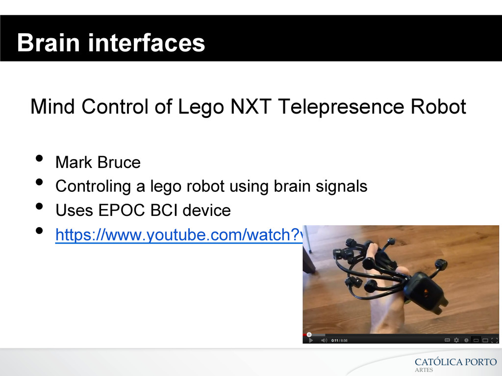Brain interfaces Mind Control of Lego NXT Telep...