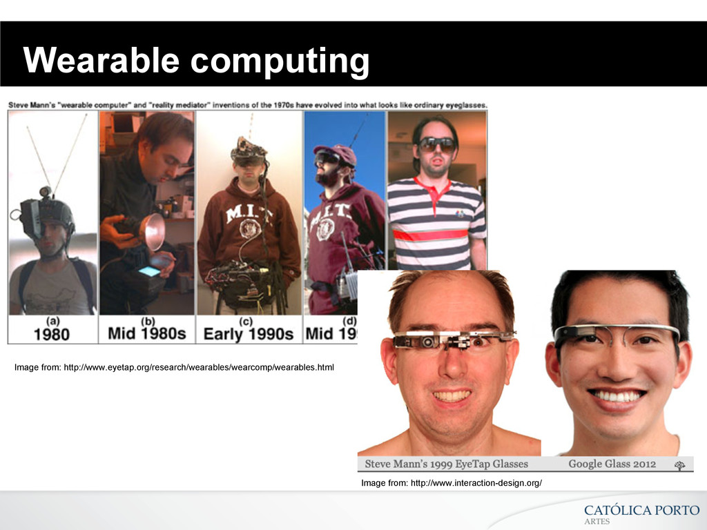 Wearable computing Image from: http://www.eyeta...